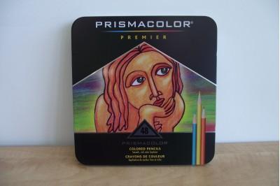 """Crayon de couleur Prismacolor """"Premier"""" qualité supérieur en boîte 48"""