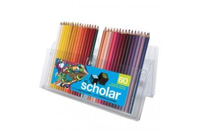 Crayon de couleur Prismacolor Scholar en paquet 60